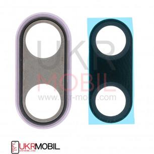 Стекло камеры Huawei P20 (EML-L29, EML-L09), с рамкой, Pink