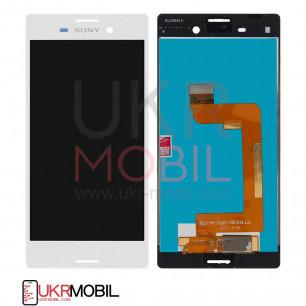 Дисплей Sony E2312 Xperia M4 Aqua Dual с тачскрином, White