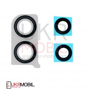 Стекло камеры Huawei Honor 8X (JSN-L21, JSN-L22, JSN-L42), с рамкой, Black