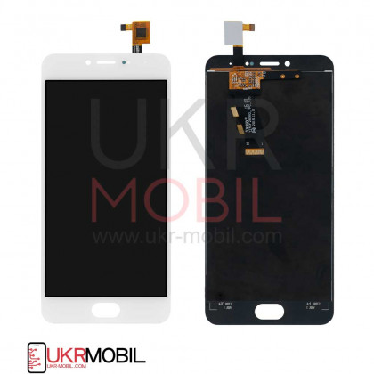 Дисплей Meizu M3, M3 mini M688H, с тачскрином, White - ukr-mobil.com