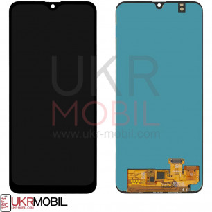 Дисплей Samsung A205 Galaxy A20 2019, с тачскрином, OLED, Black