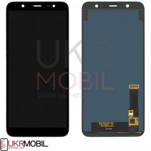 Дисплей Samsung J810 Galaxy J8 2018, TFT (подсветка - original), с тачскрином, Black