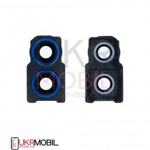 Стекло камеры Huawei Honor 10 Lite (HRY-LX1), с рамкой, Blue