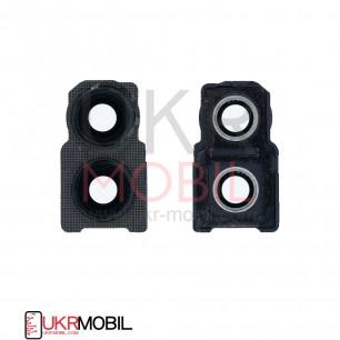 Стекло камеры Huawei Honor 10 Lite (HRY-LX1), с рамкой, Black