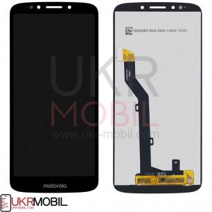 Дисплей Motorola XT1944 Moto E5, с тачскрином, Black