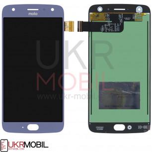 Дисплей Motorola XT1900 Moto X4, с тачскрином, Blue