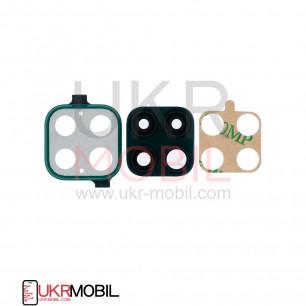 Стекло камеры Huawei P40 Lite (MAR-LX1A, JNY-L21, JNY-L21A, JNY-L22), с рамкой, Green
