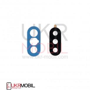 Стекло камеры Xiaomi Redmi Note 6 Pro, с рамкой, Blue