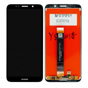 Дисплей Huawei Y5 2018 (DRA-L21), Y5 Prime 2018 (DRA-L22), Honor 7A (DUA-L22), Honor 7S, Honor 7 Play, с тачскрином, High Copy, Black