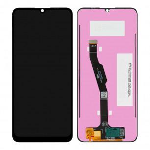 Дисплей Huawei Y6P 2020, Honor 9A (MED-L29, LX9, LX9N, L29N, MOA-LX9, LX9N) с тачскрином, Original PRC, Black