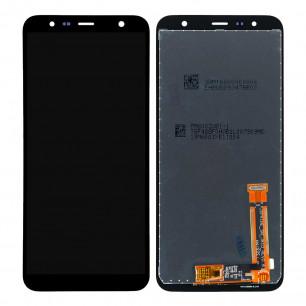 Дисплей Samsung J610 Galaxy J6 Plus 2018, J415 Galaxy J4 Plus 2018, с тачскрином, Original PRC, Black