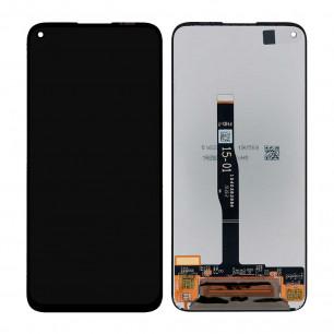Дисплей Huawei P40 Lite, Nova 6 SE (JNY-LX1, L21A, L01A, L21B, L22A, L02A, L22B), с тачскрином, Original, Black