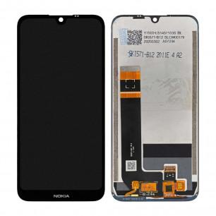 Дисплей Nokia 1.3 TA-1205, TA-1207, TA-1216, с тачскрином, Original PRC, Black