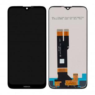 Дисплей Nokia 2.3 TA-1211, TA-1214, TA-1206, TA-1209, с тачскрином, Original PRC, Black