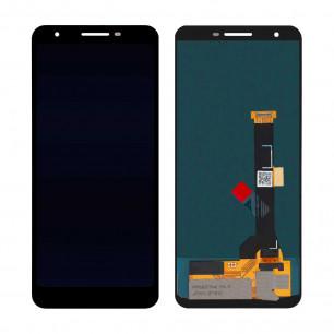 Дисплей Google Pixel 3A, с тачскрином, Original, Black