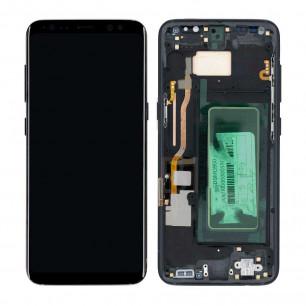 Дисплей Samsung G950 Galaxy S8, с тачскрином, с рамкой, Original PRC, Black