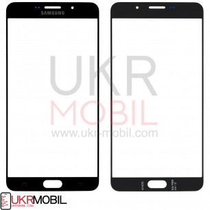 Стекло дисплея Samsung A9100 Galaxy A9 Pro 2016, Black