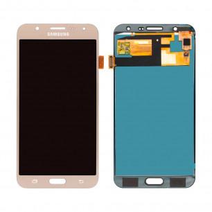 Дисплей Samsung J700 Galaxy J7, с тачскрином, TFT (с регулируемой подсветкой), Gold