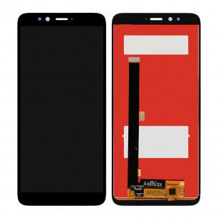 Дисплей Lenovo K520 S5, с тачскрином, Original PRC, Black