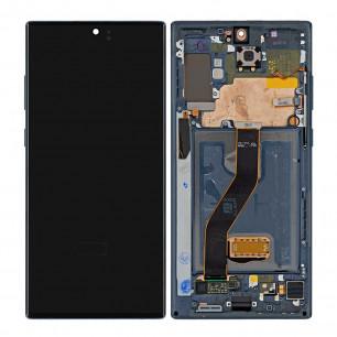 Дисплей Samsung N975 Galaxy Note 10 Plus, с тачскрином, рамкой, Original, Black