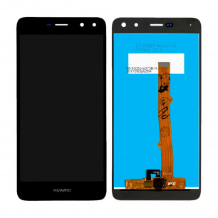 Дисплей Huawei Y5 2017 (MYA-U29), Y6 2017, Honor 6 Play, Nova Young 4G (MYA-L11), с тачскрином, High Copy, Black