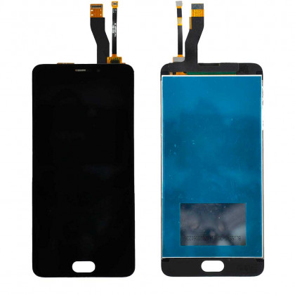 Дисплей Meizu M5 Note M621, с тачскрином, High Copy, Black - ukr-mobil.com