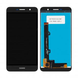 Дисплей Huawei Y6 Pro (TIT-U02, TIT-AL00), Honor 4C Pro (TIT-L01), Honor Play 5X, Enjoy 5, с тачскрином, High Copy, Black