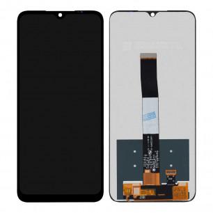 Дисплей Xiaomi Redmi 9a, Redmi 9c, Poco C3, с тачскрином, Original PRC, Black