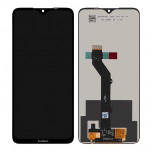 Дисплей Nokia 5.3 TA-1234, TA-1223, TA-1227, с тачскрином, Original PRC, Black