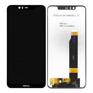Дисплей Nokia 5.1 Plus, X5 2018 TA-1109, TA-1112,  с тачскрином, High Copy, Black