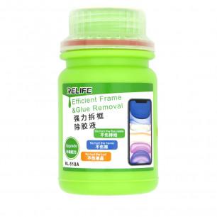 Жидкость для удаления клея OCA, клея рамок и тачскринов Relife RL-518A, 250ml