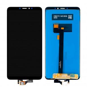 Дисплей Xiaomi Mi Max 3, с тачскрином, Original PRC, Black