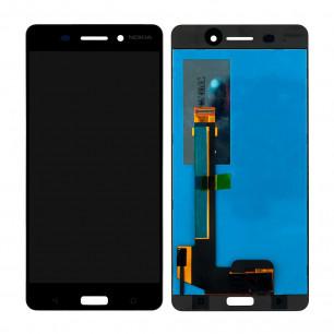 Дисплей Nokia 6 Dual Sim TA-1021, TA-1033, с тачскрином, Matte Black
