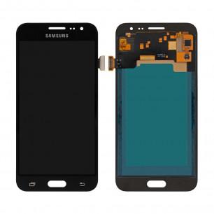 Дисплей Samsung J320 Galaxy J3 2016, с тачскрином, INCELL, Black