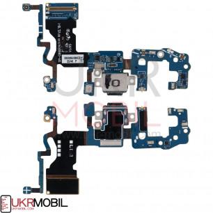 Шлейф Samsung G960 Galaxy S9, с разъемом зарядки, микрофоном, Original
