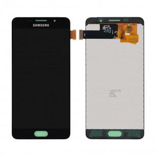 Дисплей Samsung A510 Galaxy A5 2016, с тачскрином, INCELL, Black