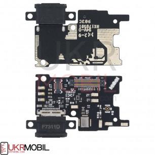 Шлейф Xiaomi Mi6, нижняя плата с разъемом зарядки, микрофоном