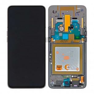 Дисплей Samsung A805 Galaxy A80, с тачскрином, рамкой, Original PRC, Black