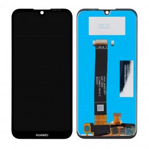 Дисплей Huawei Y5 2019, Y5 Prime 2019, Honor 8S, (AMN-LX1, LX2, LX3, LX9, KSE-LX9, KSA-LX9) с тачскрином, Original PRC, Black