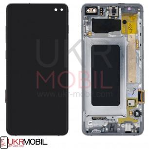 Дисплей Samsung G975 Galaxy S10 Plus, с тачскрином, с рамкой, Original PRC, Black