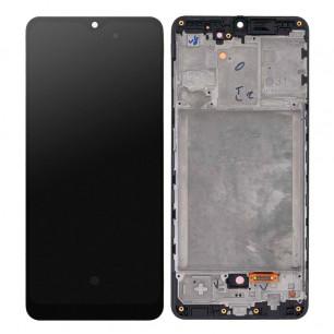 Дисплей Samsung A315 Galaxy A31, с тачскрином, с рамкой, OLED, Black