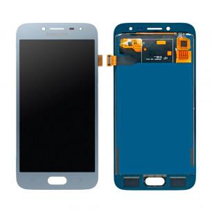 Дисплей Samsung J250 Galaxy J2 2018, с тачскрином, TFT (с регулируемой подсветкой), Blue