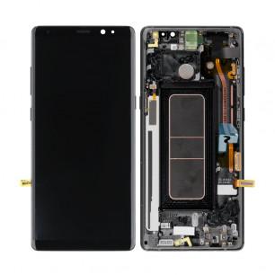 Дисплей Samsung N950 Galaxy Note 8, с тачскрином, рамкой, Original PRC, Black