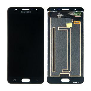 Дисплей Samsung G610 Galaxy J7 Prime, с тачскрином, Original PRC, Black