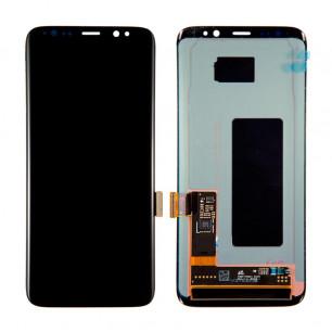 Дисплей Samsung G950 Galaxy S8, с тачскрином, Original PRC, Black