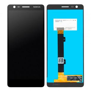 Дисплей Nokia 3.1 TA-1063, TA-1057, с тачскрином, High Copy, Black