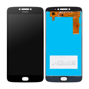 Дисплей Motorola XT1770, XT1771, XT1775 Moto E4 Plus, с тачскрином, Black