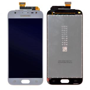 Дисплей Samsung J330 Galaxy J3 2017, с тачскрином, Original PRC, Blue