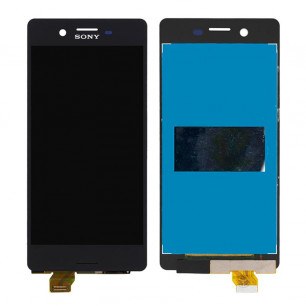 Дисплей Sony F5121 Xperia X, F5122 Xperia X Dual, F8131 Xperia X Performance, F8132 Xperia X Performance Dual, с тачскрином, Black