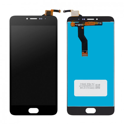 Дисплей Meizu M3 Note L681h, с тачскрином, High Copy, Black - ukr-mobil.com